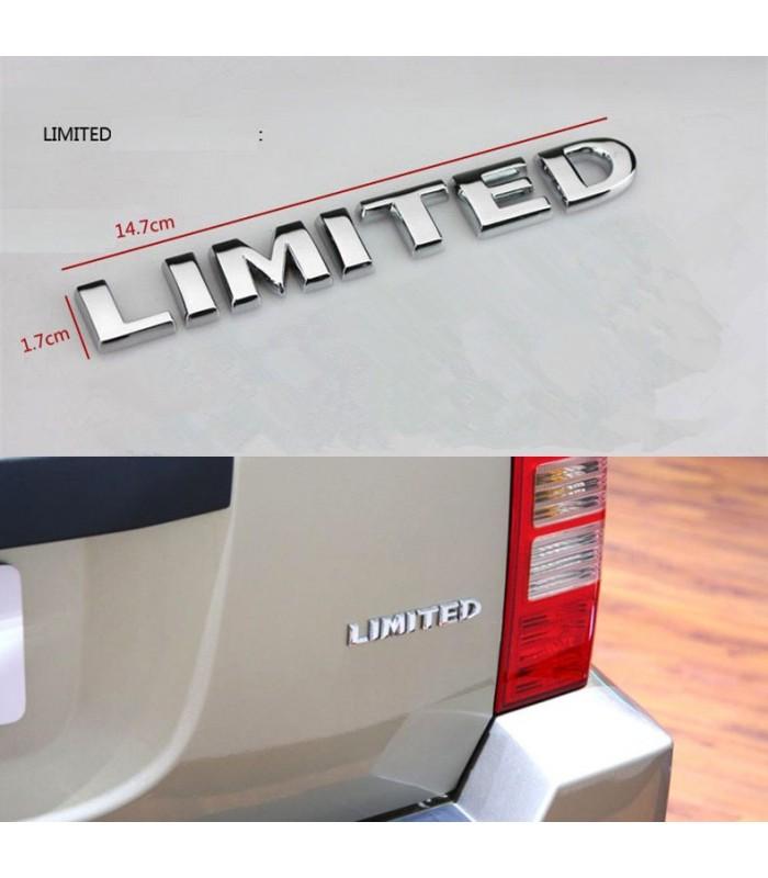 Emblema trasero Limited