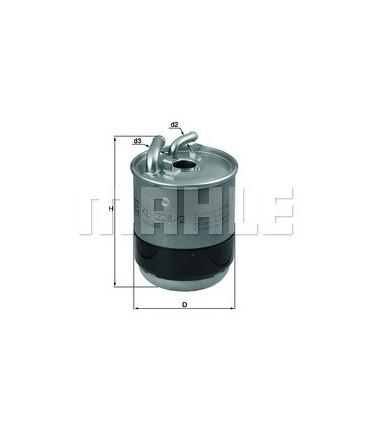 Filtro de combustible Jeep KL228/2D