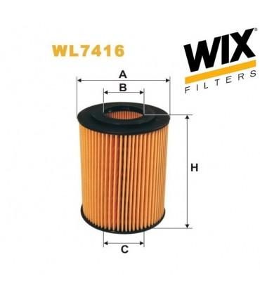 Filtro de aceite WL7416