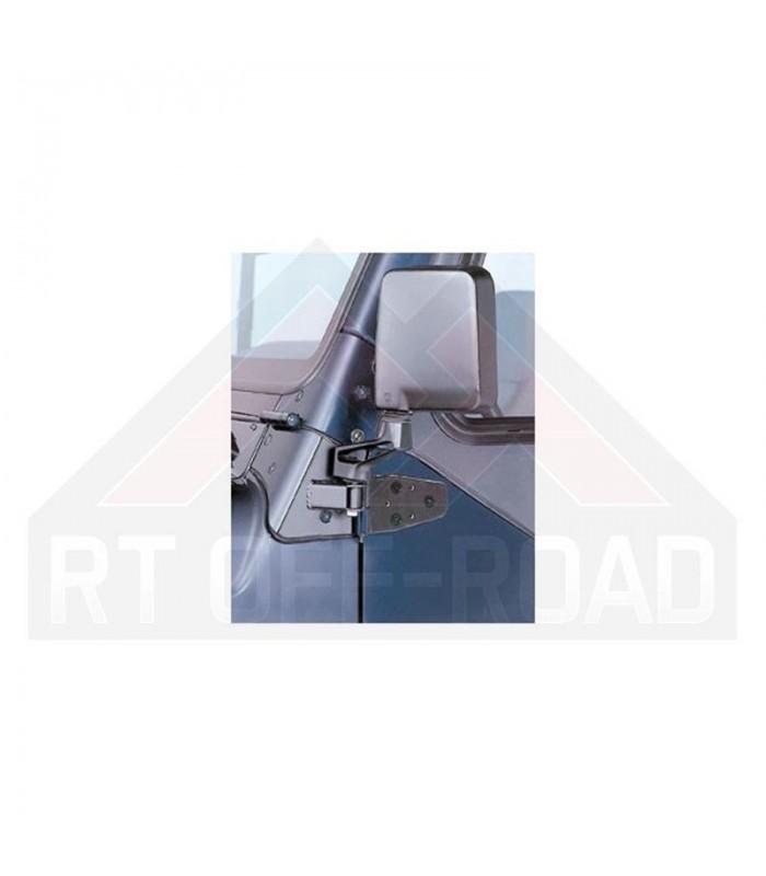 Soportes de recolocación para espejos retrovisores Jeep Wrangler TJ 97/02