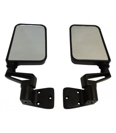Kit espejos retrovisores negros Jeep Wrangler TJ / YJ