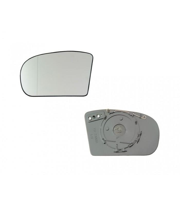Cristal de espejo, retrovisor exterior izquierdo Mercedes-Benz Clase C W203, E W211