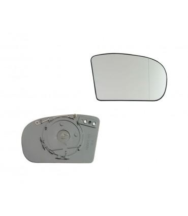 Cristal de espejo, retrovisor exterior derecho Mercedes-Benz Clase C W203, E W211