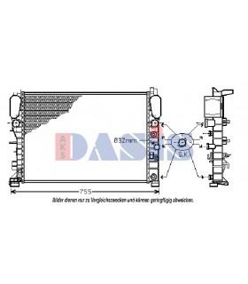 Radiador refrigeracion motor