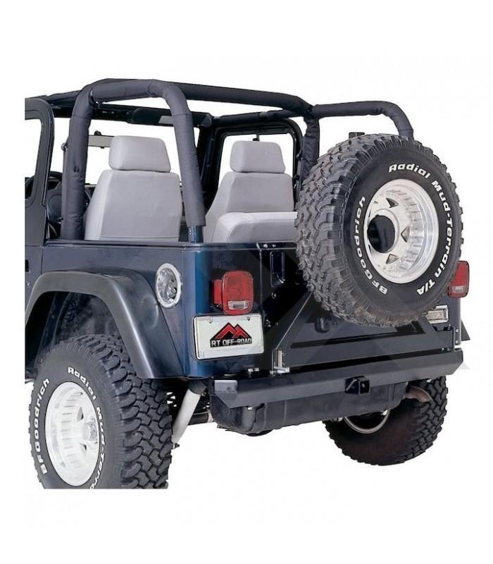 Fundas barras antivuelco Jeep Wrangler YJ 92/95