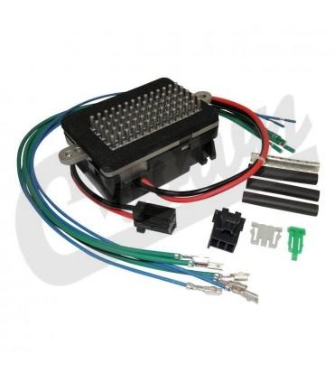 Kit resistencia motor ventilador