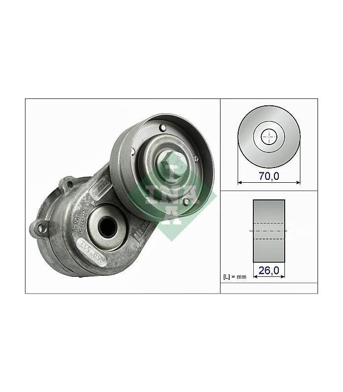 Tensor de Correa Chrysler Voyager RG 01/07 CRD