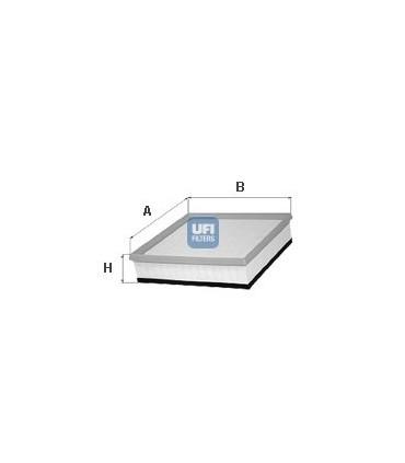 Filtro de Aire UFI 30.183.00 OE 7M3129620, 7M3129621, 1004070, 1110661