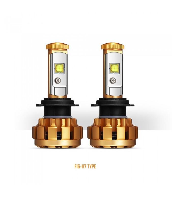 Juego de 2 Lampara LED H7 6000K 60W