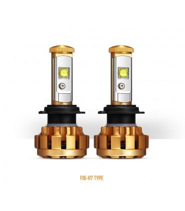Kit conversión Lampara LED H7 6000K 60W