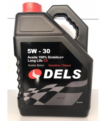 Aceite Motor Eni 5W30 C3 Long Life 5L