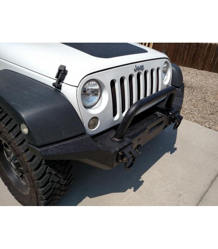 Kit Extremos puntas Paragolpes modular XHD Jeep Wrangler JK 07-18