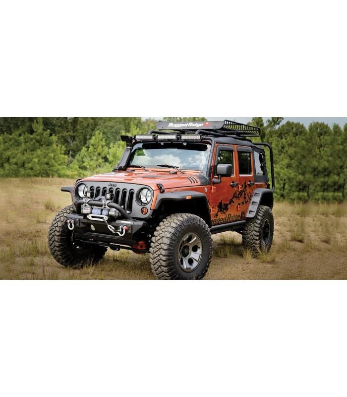 Paragolpe delantero All-Terrain Jeep Wrangler JK 07/18