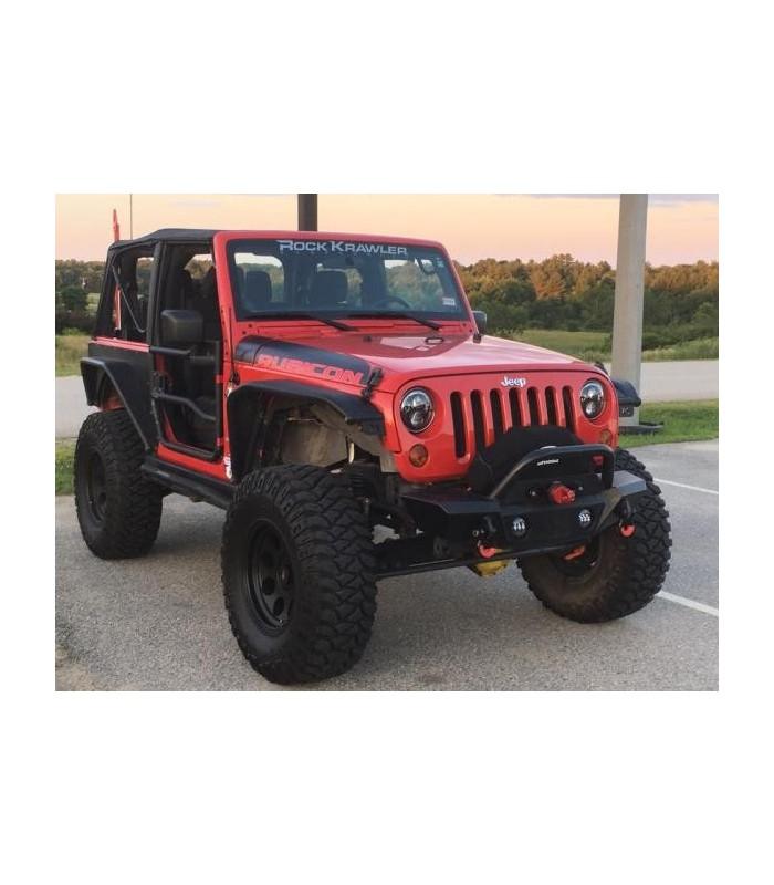 Puertas de tubo Jeep Wrangler JK 07-18