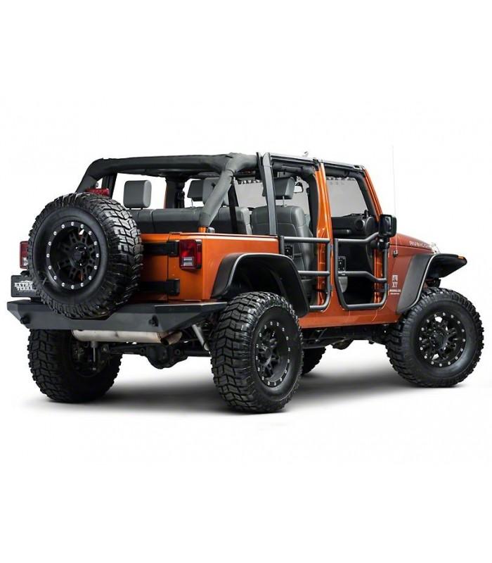 Rugged Ridge Puertas tubos traseras Jeep Wrangler JK 07-18