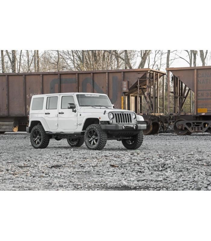 "2.5"" ROUGH COUNTRY Kit elevación Jeep Wrangler JK Unlimited"